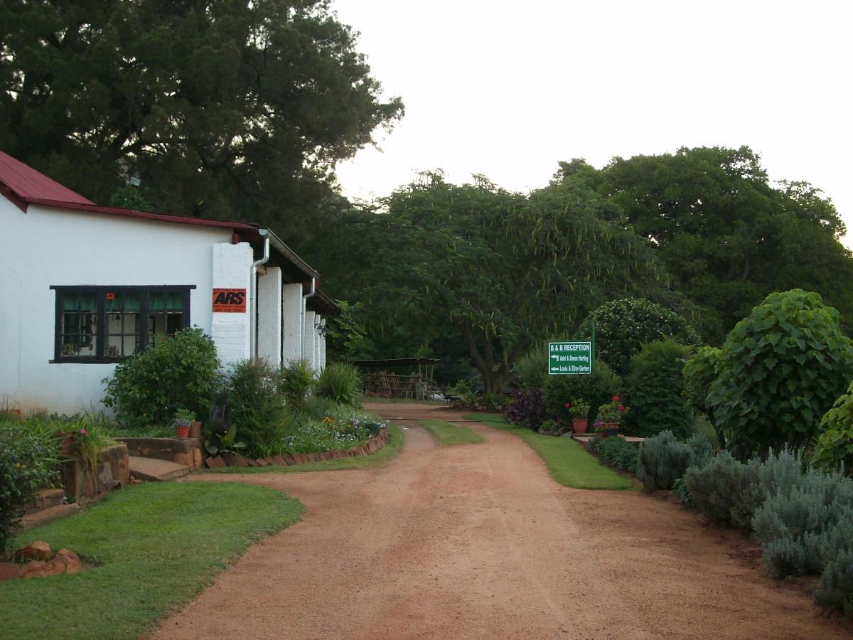 Garden view of Big Lounge